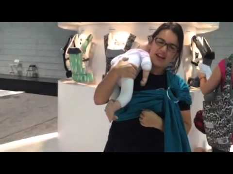 Beco Ring Sling Review Youtube