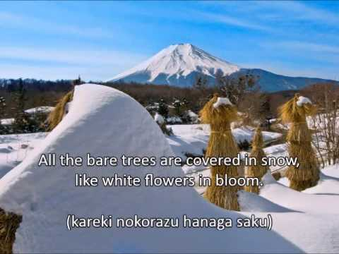 Japanese Folk Song #3: Snow (雪/Yuki) - YouTube - photo#36
