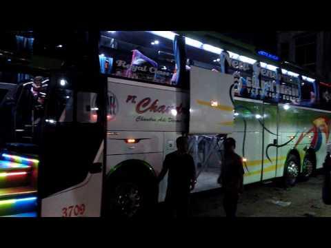 Review Bus Mewah,  Medan - Riau