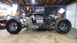 Introducing the Worlds First Off-Road Lamborghini Huracan Build