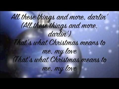 stevie wonder what christmas means to me
