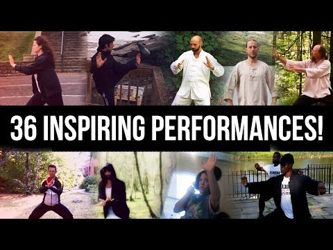 Tai Chi Around the World [MONTAGE] - 36 Inspiring Performances, One Global Tai Chi Family.
