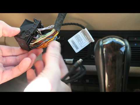 BMW Auxiliary Audio Input Kit Installation DIY BMW E39 and E53