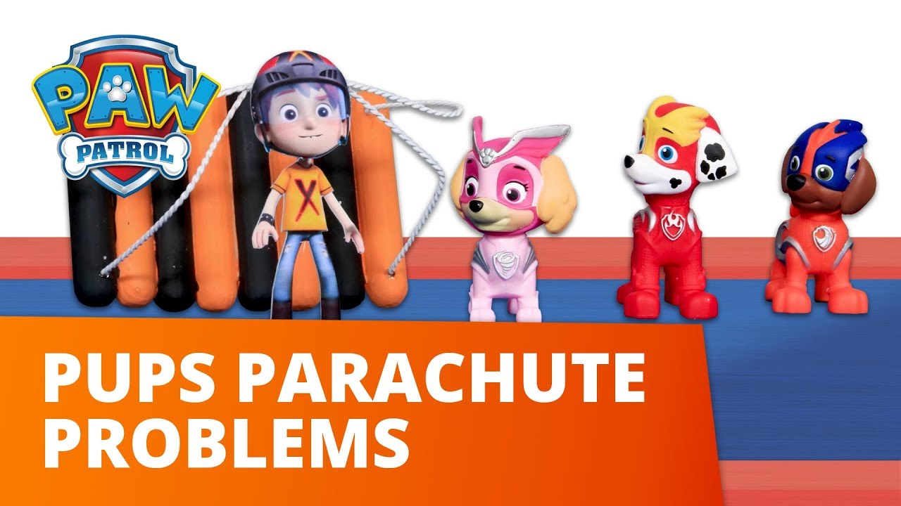 PAW Patrol | Pups Parachute Problems | Toy Episode | PAW Patrol Official & Friends