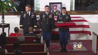 Funeral Held For Fallen Army Soldier From Arlington