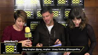 "Greg Vaughan & Linsey Godfrey ""Day of Days"" 2018 Interview 