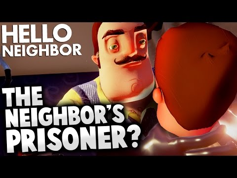 Thumbnail: Hello Neighbor - KIDNAPPED? WHO IS THE NEIGHBOR'S PRISONER? (Hello Neighbor Alpha 2 Gameplay Theory)