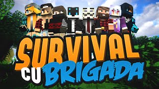 [Minecraft] Survival cu brigada | Episodul 56 | Gasim multe DIAMANTE si facem PLANURI