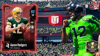 New 97 Overall Aaron Rodgers! Weekend League Qualifying - Madden NFL 18 Gameplay