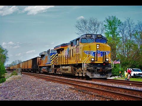 April 2017 Union Pacific Chester Subdivision Trains