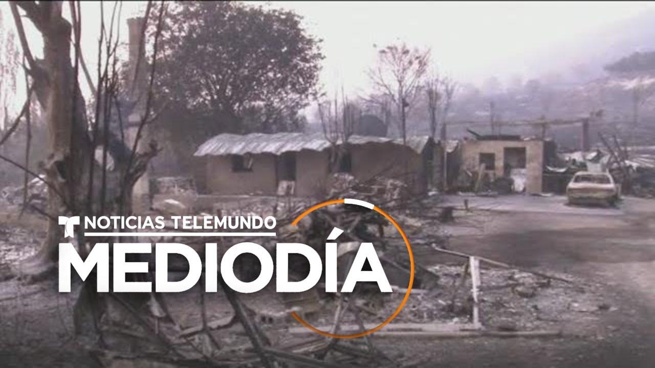 Los incendios en California dejan una grave contaminación | Noticias Telemundo