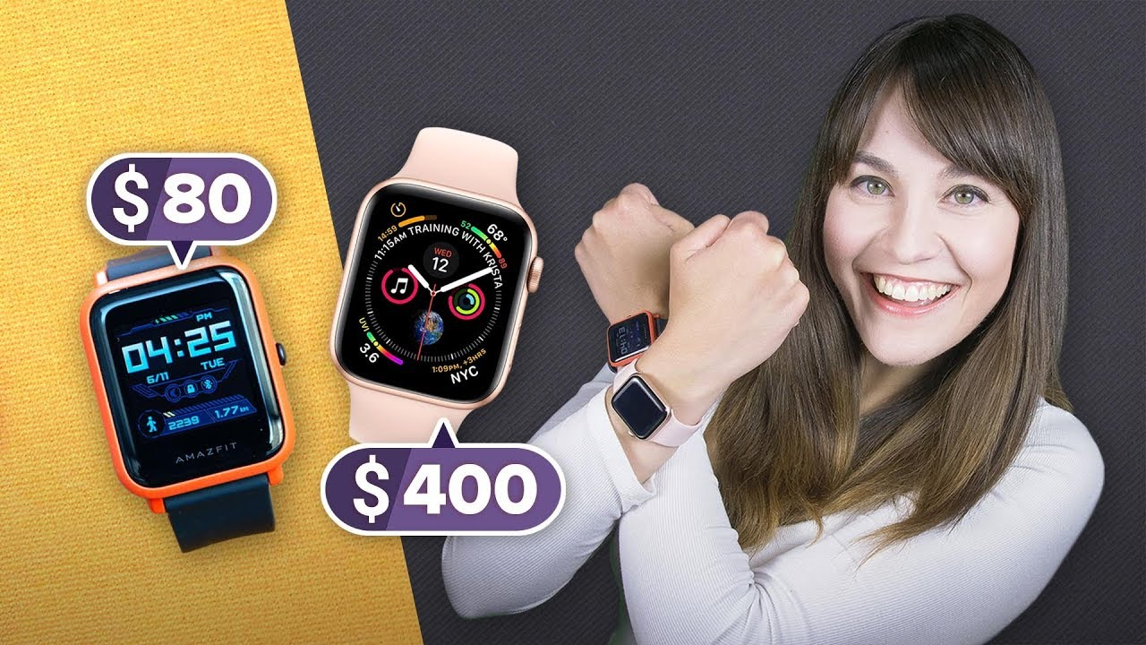 Apple Watch vs  Amazfit Bip: The $80 smartwatch alternative