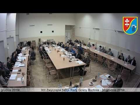 XIII Sesja Rady Gminy Bochnia