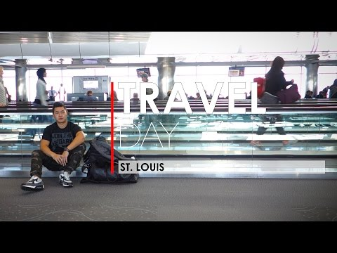 Travel Day to St. Louis from Vancouver  (Ep.03)