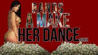 Juicy J - Bandz A Make Her Dance (Remix) ft. French Montana, Lola Monroe, Wiz Khalifa   B.o.B