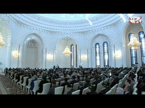 President Ilham Aliyev attended the opening of Heydar Mosque in Baku