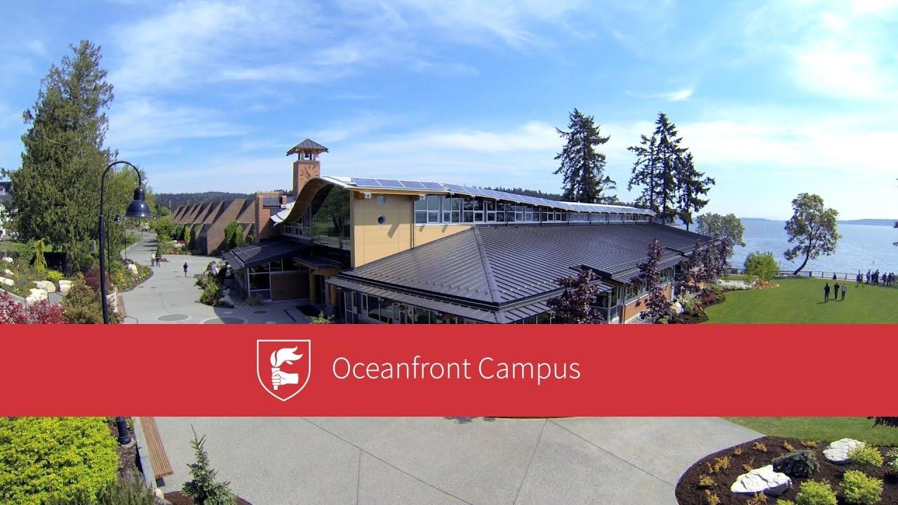oceanfront campus brentwood college school youtube. Black Bedroom Furniture Sets. Home Design Ideas