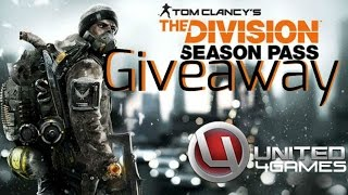 The Division - WINNER ANNOUNCEMENT & SEASON PASS GIVEAWAY-YAY!