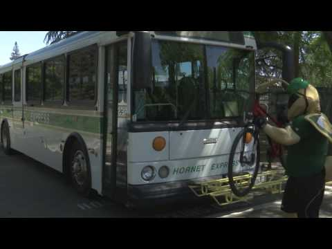 Commuting to Sac State by Bike and Public Transit