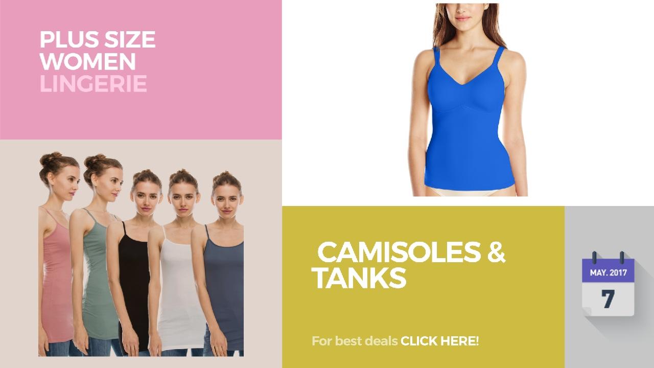 0d4b99bd7e5ae Camisoles   Tanks Plus Size Women Lingerie - YouTube