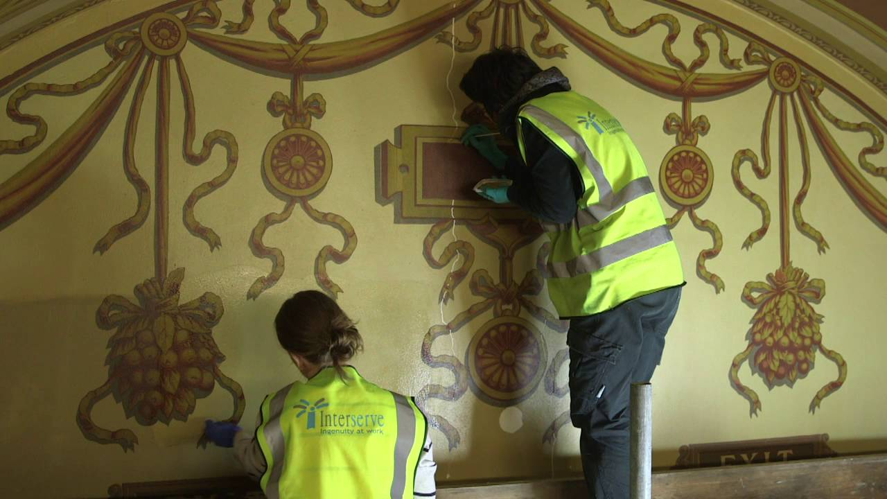 Architectural Conservation Students Help With McEwan Hall Restoration