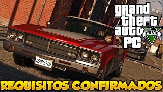 GTA V PC Requisitos Confirmados Minimos Y Recomendados GTA 5 De PC