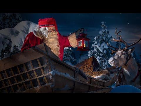 Santa Is On His Way in Santa Claus Village, Rovaniemi, Dec 23rd 2016