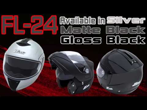 Zamp FL-24 Motorcycle Helmet Overview Tutorial