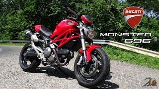 ducati Monster 696 bike review/ utcai teszt - 2WheelsEurope HD
