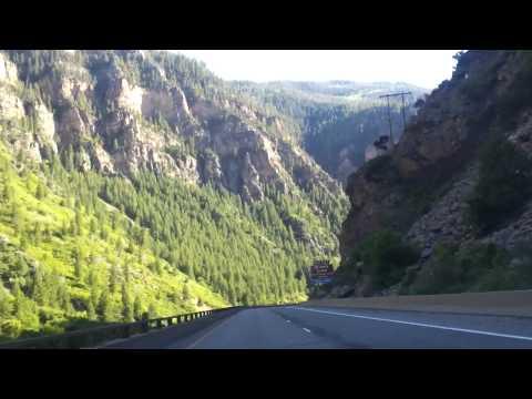 My trip on I-70 through the Rocky Mountains : )