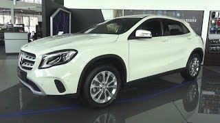 2017 Mercedes-Benz GLA 200 (X156). Обзор (интерьер, экстерьер, двигатель). Video