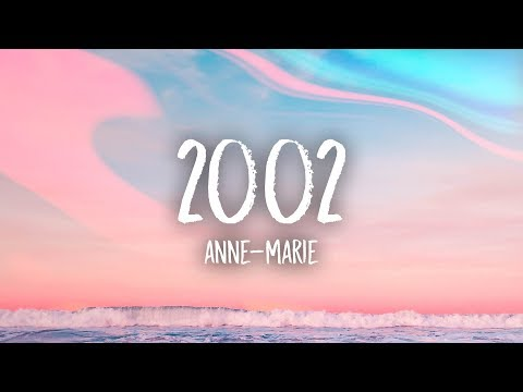 AnneMarie  2002 Lyrics