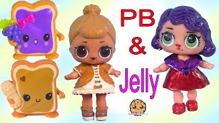 LOL Surprise Peanut Butter & Jelly BFF Doll DIY Craft Makeover Painting Video