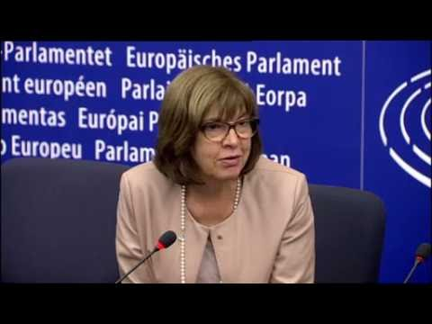 MEP Rebecca HARMS and Philippe LAMBERTS - Co-Presidents Greens/EFA Press Briefing