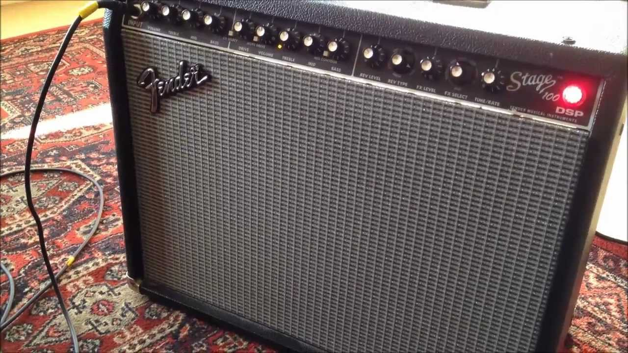 Fender Stage 100 with DI + Pedal Switching