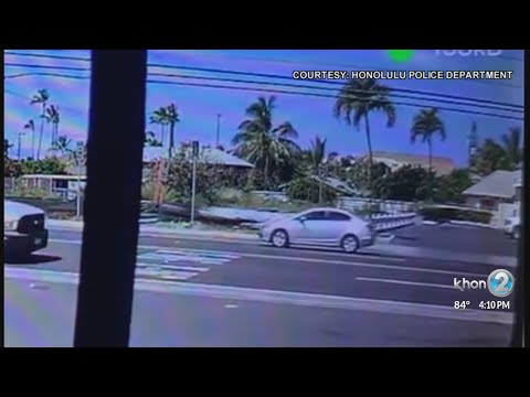Honolulu police searching for suspect involved in bicyclist hit-and-run