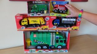 Worlds Best Top 5 Recycling Waste Garbage Trucks Toys #unboxing