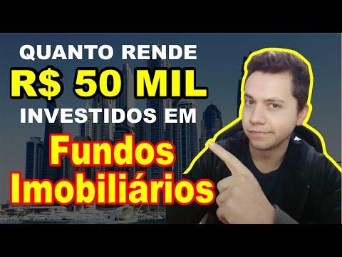 Quanto RENDE R$ 50 MIL em Fundos Imobiliários por MÊS?? (Renda passiva) | Melhores Investimentos