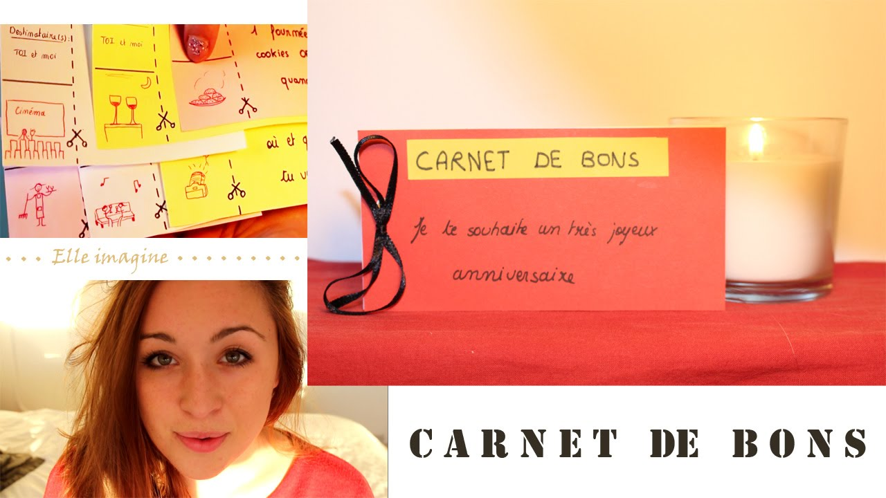 diy le carnet de bons id es cadeaux anniversaire saint valentin youtube. Black Bedroom Furniture Sets. Home Design Ideas