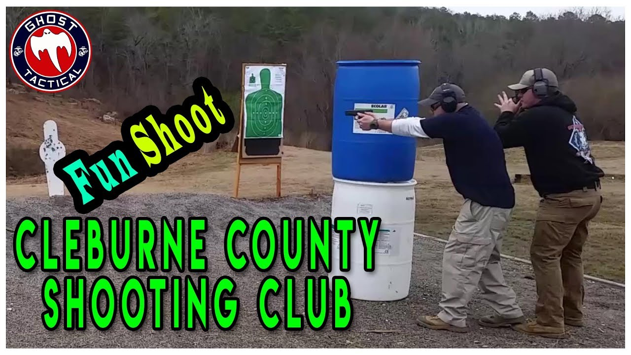 Fun Shoot at the Cleburne County Shooting Club