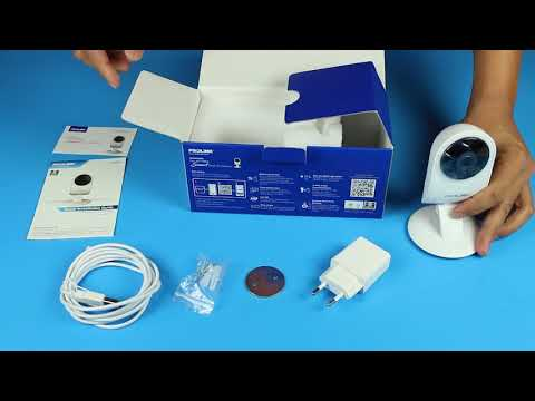 PROLiNK PIC3002WN Full-HD Wireless IPCAM Unboxing