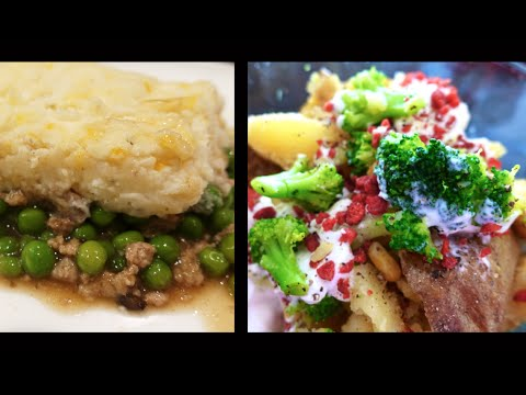 EASY Meal Plan Butternut Squash Soup, Shepherd's Pie, & More