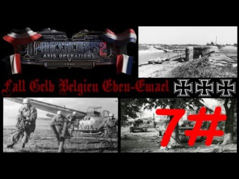 Panzer Corps 2: Axis Operations 1940 - Fall Gelb Belgien Eben Emael #7 |