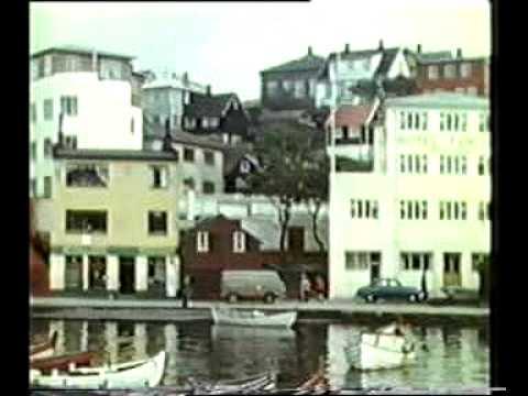 Färöarna/Faroes/Føroyar 1961. 1st part. Tórshavn, Klaksvík, Skúvoy