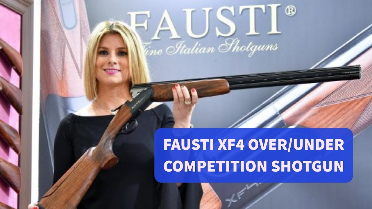 Fausti XF4 over/under competition shotgun