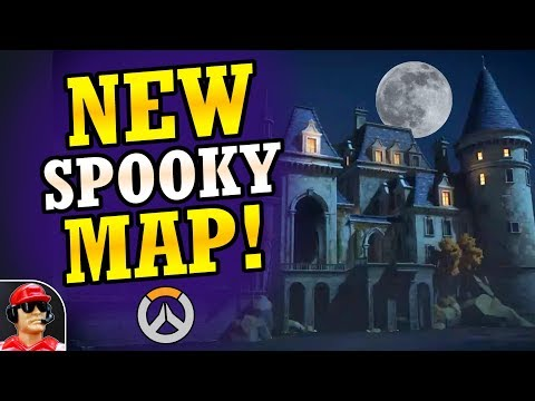 NEW Halloween Château Guillard Official Teaser! - 2018 Halloween Event Teaser (Overwatch News)