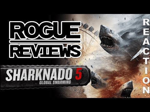 SHARKNADO 5: GLOBAL SWARMING Trailer Reaction | Rogue Reviews streaming vf
