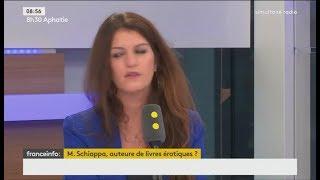 Marlène Schiappa refuse de dire si elle a écrit des livres érotiques (FRANCE INFO, 14/07/17, 8h30)
