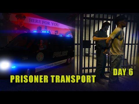 GTA 5 - Day 6 - Prisoner Transport - Mercedes Sprinter