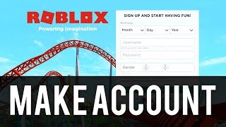 How To Make a Roblox Account For Free | Easy!